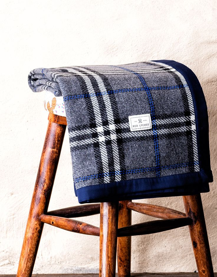 Set out for a cozy picnic or update your room with our Ambassador Wool Blanket.