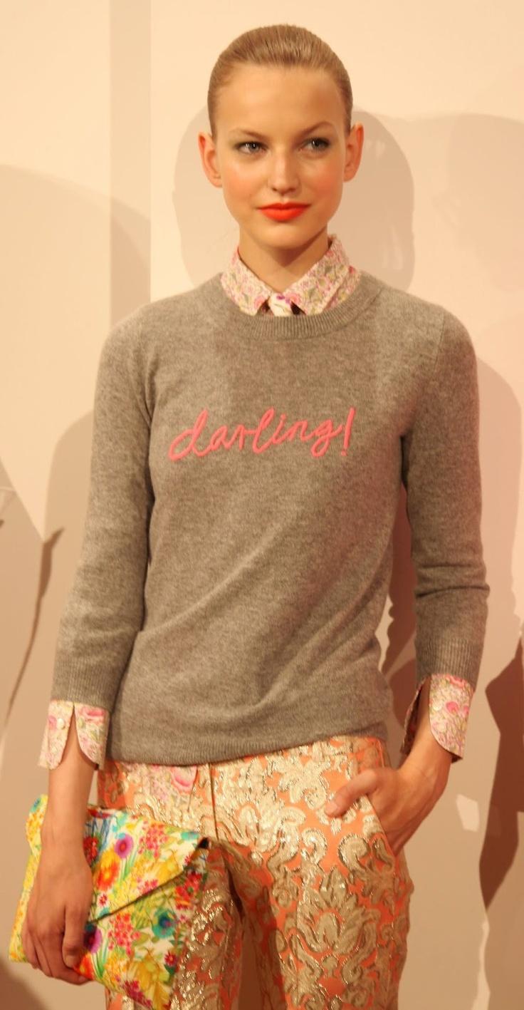 Hugo Guinness for J.Crew: cashmere sweater