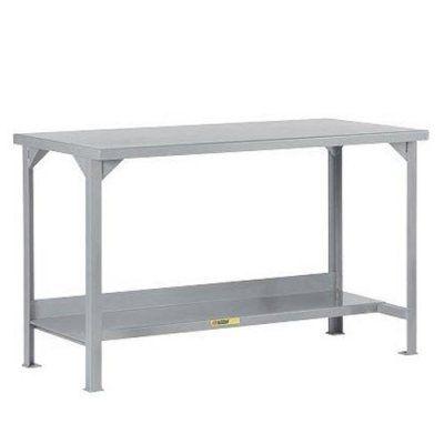 Little Giant Steel Workbench with Lower Shelf - WST2-2460-36