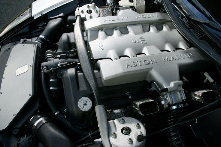 Aston Martin - 2004 - 2007   Vanquish S V-12 engine