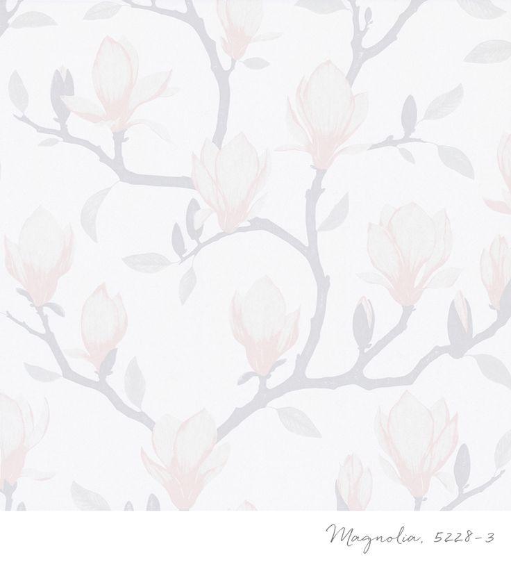 Tapet 5228-3 från kollektionen Blomstertiden. TAPETSTUDION, Nordic Wallpaper AB.