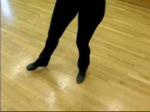 Advanced Tap Dance Lessons : The Break of the Shuffle Step Combination in Advanced Tap Dancing - YouTube