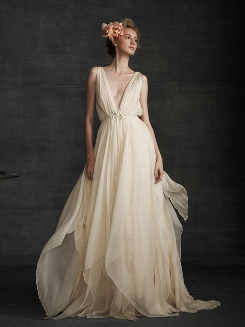 13 Boho Wedding Dresses from Top Bridal Designers