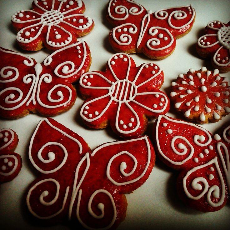 Spring Honiees - colored honey cookies
