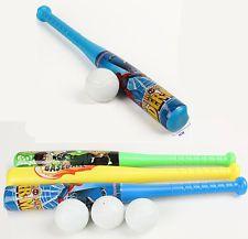 Guante al aire libre Juguetes Suaves Niños Bat de Béisbol Fiesta Baile 1 Juego de plástico seguro