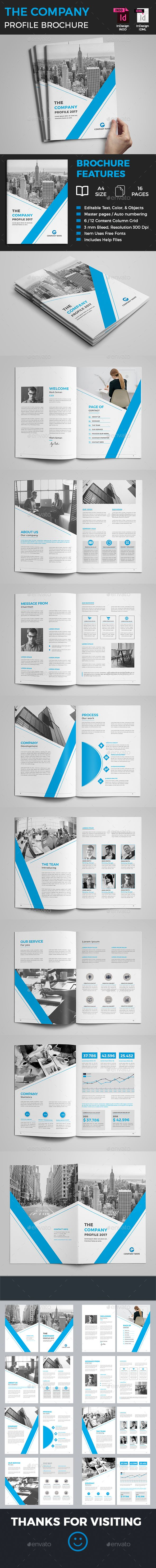 Company Profile Brochure — InDesign INDD #indesign brochure #annual report • Available here → https://graphicriver.net/item/company-profile-brochure/20452839?ref=pxcr