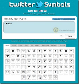 Add Special Characters & Symbols To Tweets