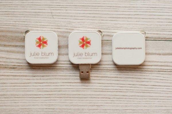 Julie Blum Photography usb drive packaging