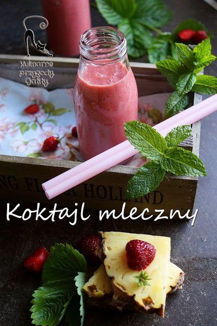 Kulinarne przygody Gatity: Koktajl mleczny owocowy