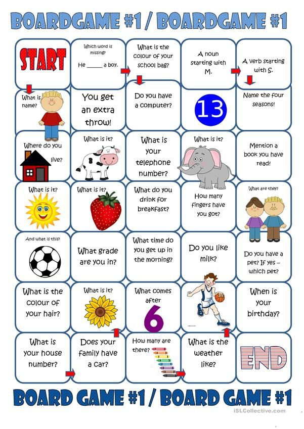Boardgame 1 Worksheet - Free ESL Printable Worksheets Made By Teachers English  Worksheets For Kids, Elementary School Students, Board Games