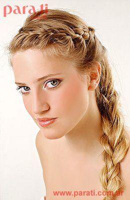 Peinados de moda con Trenzas de costado 2012 | peinados de moda, peinados de novia