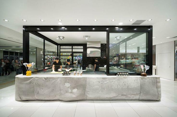 Schemata Architects, Papabubble Shop, Tokyo, 2012