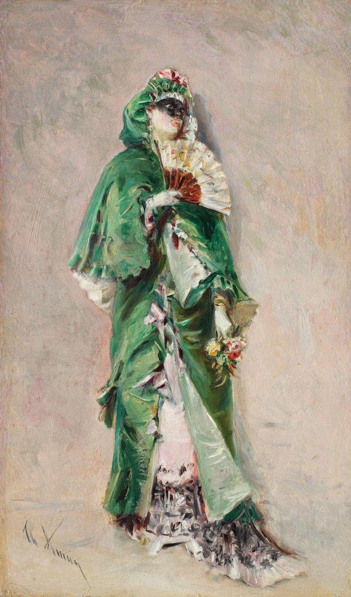 Theodor Aman - Dominoul verde
