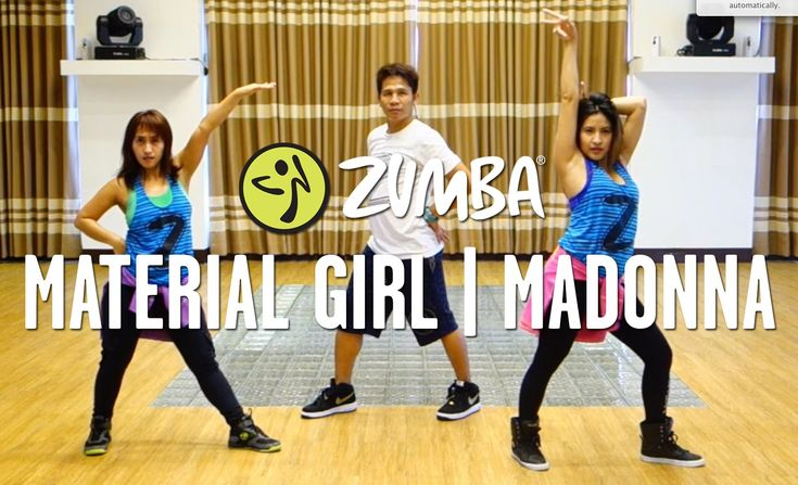 Material girl zumba choreography by mark che live for Mirror zumba