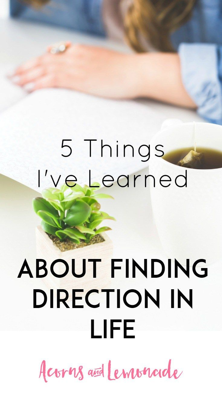Finding and running with a direction for your life is scary but I'm doing it and you can too, here are 5 things I've learned so far | Acorns and Lemonade.com