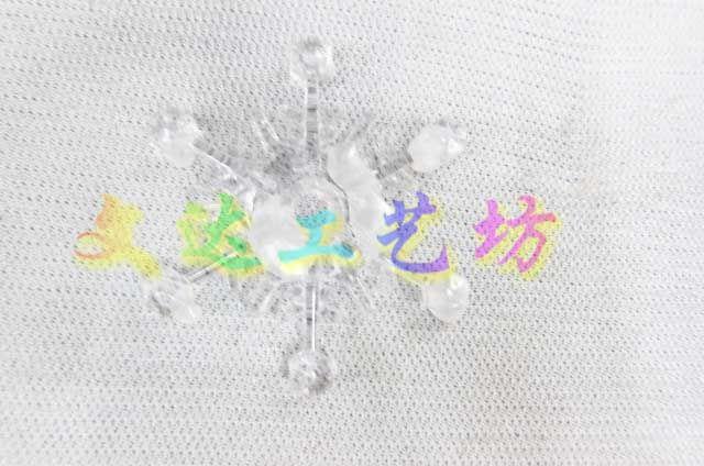 7см рождественские аксессуары пластиковые бусы упаковка Рождественская елка украшения снежинки, принадлежащий категории Новогодние декорации и относящийся к Дом и сад на сайте AliExpress.com