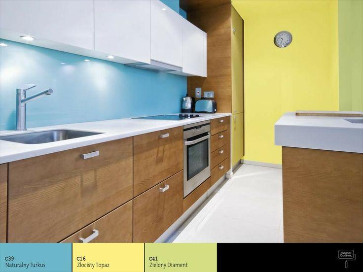 41 best images about Kuchnia inspiracje on Pinterest   -> Kuchnia W Kolorze Niebieskim