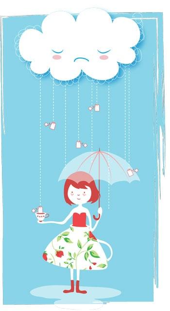It's Raining Tea!   Holly Hatam