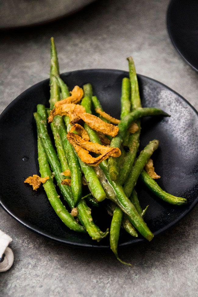 Vegan Green Bean Casserole Recipe Green Bean Casserole Vegan