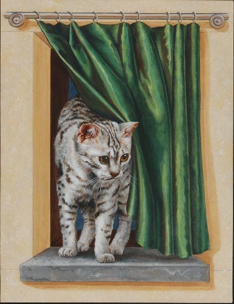 17 Best Images About Peintures En Trompe L 39 Oeil On Pinterest Tabby Cats Vinyls And Rembrandt