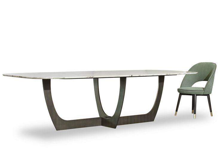 Oltre 20 migliori idee su tavoli di marmo su pinterest - Tavolo marmo design ...