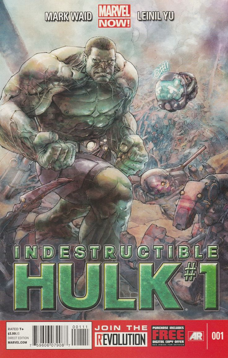 Indestructible Hulk # 1 Marvel Now!