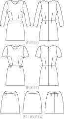 Sigma Dress | Papercut Patterns