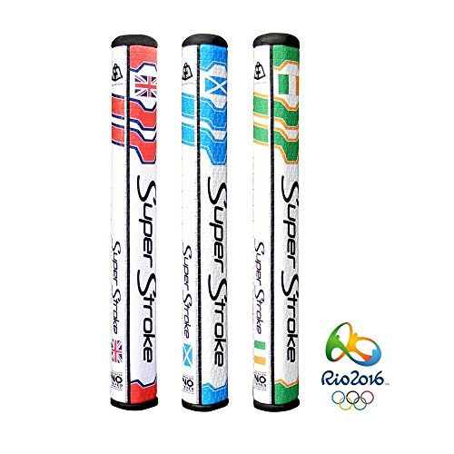 UK Golf Gear - SuperStroke Golf Legacy 3.0 Putter Grip with CounterCore (Rio 2016 Olympics)