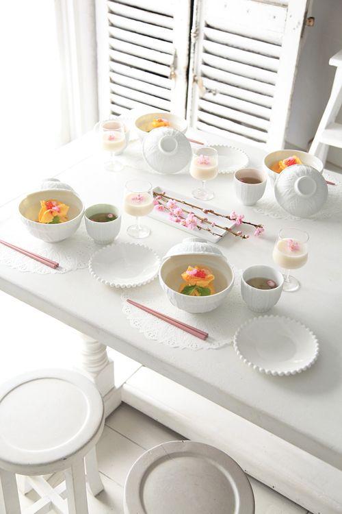 桃の節句に女子力アップ! かわいい器でちらし寿司&お吸い物