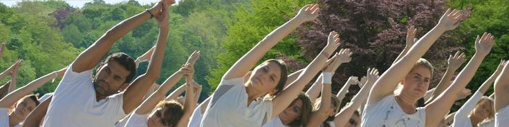 Free yoga at Bois de la Cambre this Sunday!