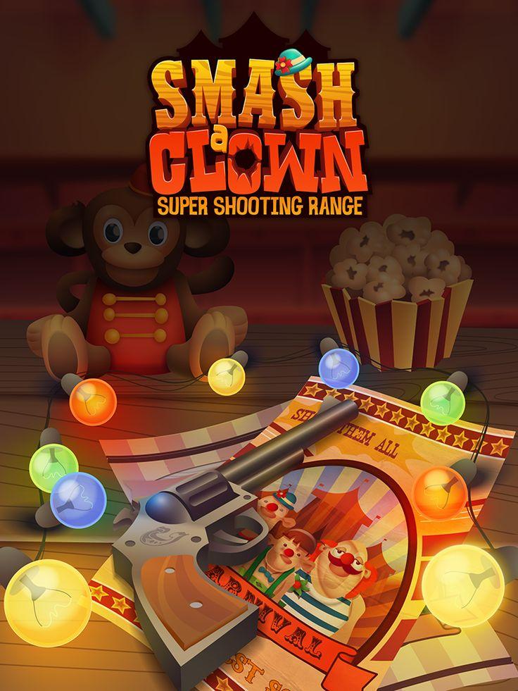 Smash a Clown - 2d graphics design on Behance