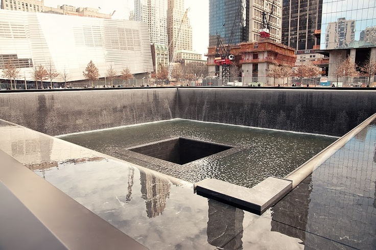The Towers site 911 Memorial