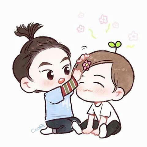 Fanart Xiumin and Baekhyun
