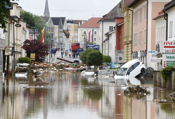 Flooding Kills Dozens In Europe And Texas, Displaces Thousands More