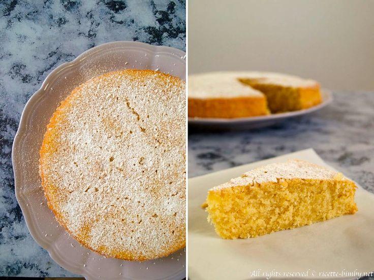 Torta al latte di cocco Bimby #ricettebimbynet