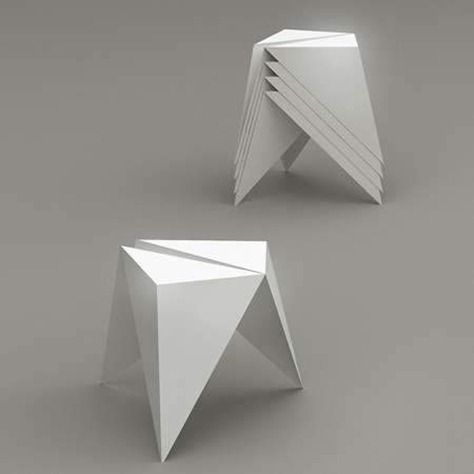 sillas origami