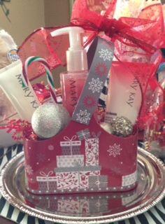 Satin Hands Pomegranate from Mary Kay - Holiday gift set (free gift wrap/decoration)  www.marykay.com/rdelavina