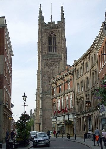Derby wasn't one of the nicest places to live but the architecture was beautiful in areas.