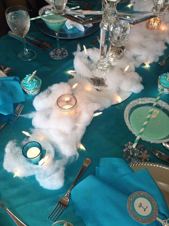 Frozen party theme: Elsa Party Decoration, Frozen Themed