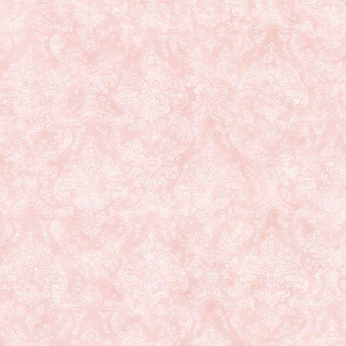 Brewster 2605-21623 Catharina Pink Damask Wallpaper