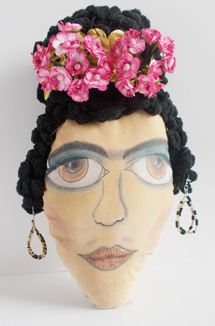 my frida kahlo by mademeathens, handpainted #frida