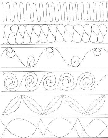 919 best Free motion Quilting images on Pinterest   Free motion ... : free quilting motif patterns - Adamdwight.com