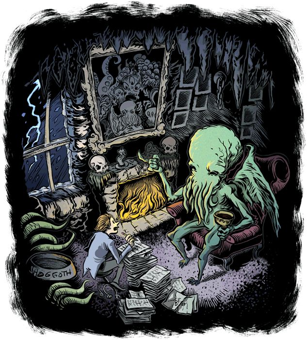 I, Cthulhu, or, What's A Tentacle-Faced Thing Like Me Doing In A Sunken City Like This (Latitude 47° 9' S, Longitude 126° 43' W) by Neil Gaiman