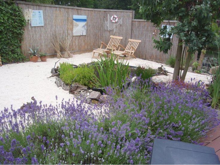 Ligbedden voor een beach tuin