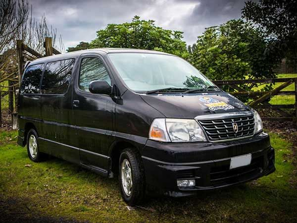 Happy Black Sleepervan 2 Berth is ideal for backpackers or the budget conscious traveller who is looking for a reliable sleepervan that is spacious with a large sized bed and reliable. The Rates include also unlimited kilometres, 24-hour roadside assistance, complimentary transfers, basic cooking facilities and utensils, basic living equipment including all bedding and much more. http://www.touring-newzealand.com/campervans/sleepervan/full_specifications.php