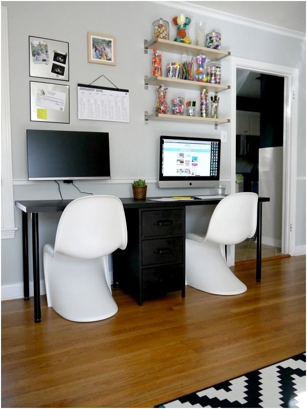 Two Person Desk Design Ideas For Your Home Office Computer Desks