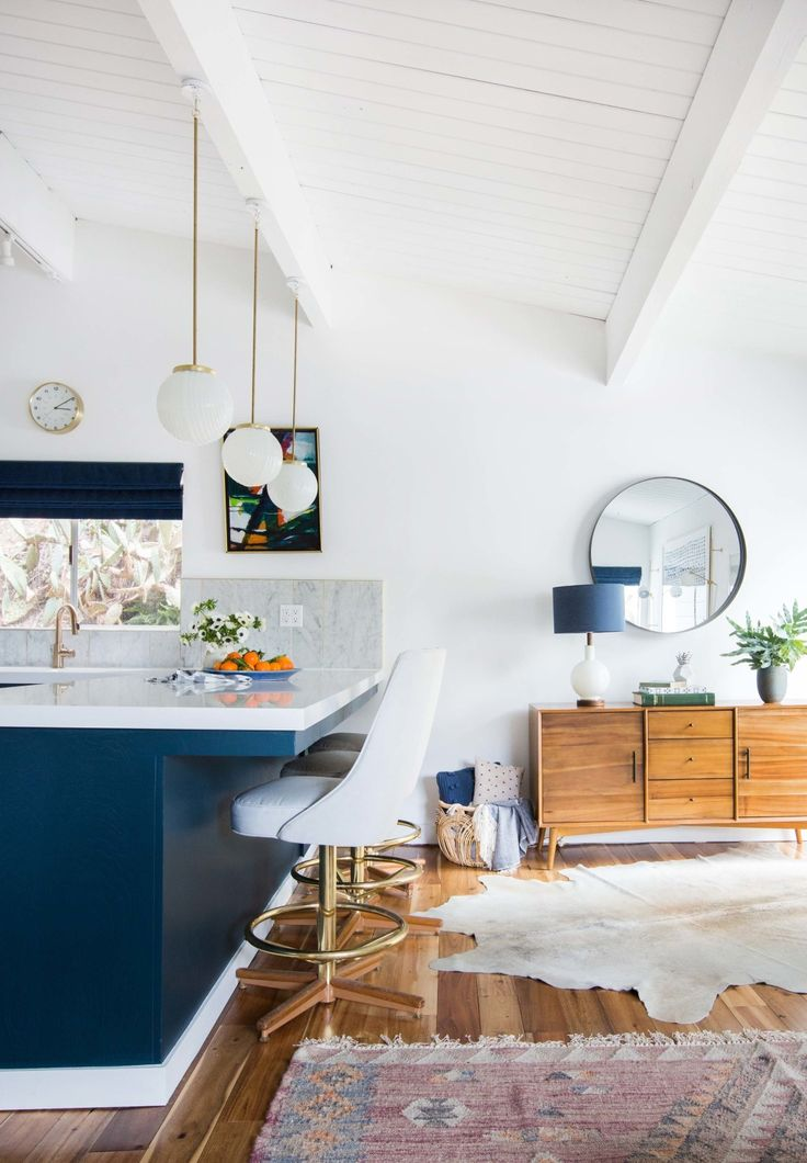 How We Styled Our Family Room and Kitchen to Sell