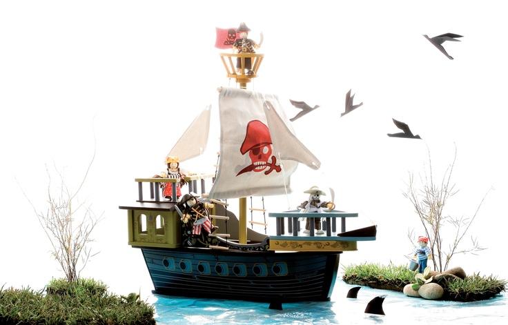 Se acerca un barco pirata... ¡Al abordaje!  #juguetes #imaginarium