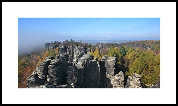 Fotoobraz - Tiské stěny, severní Čechy, Česká republika. Foto Josef Fojtík - www.fotoobrazarna.cz