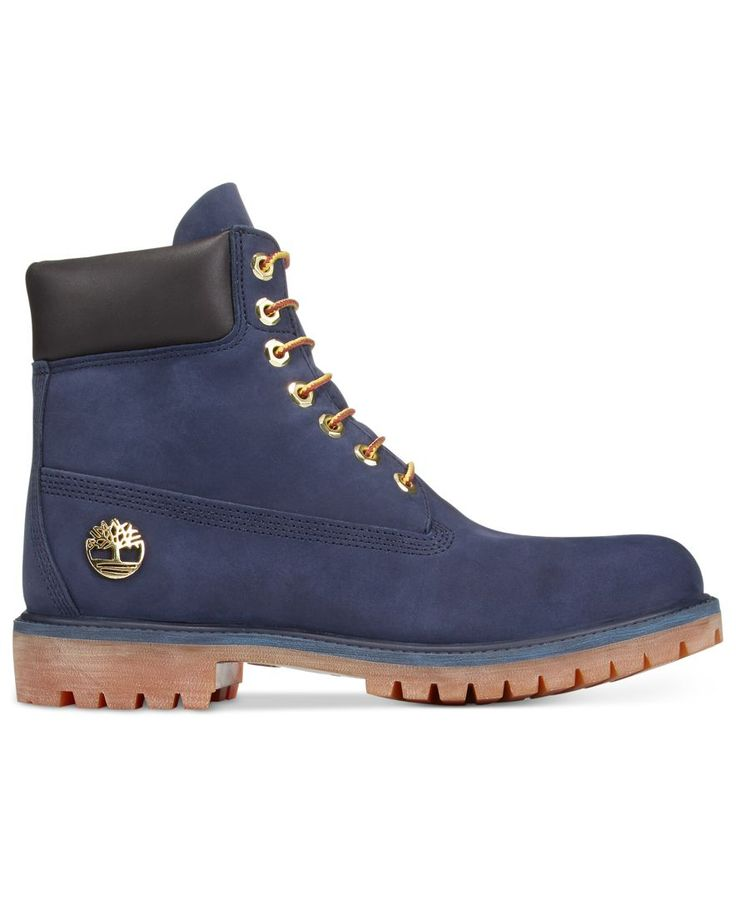 """Timberland Men's 6"""" Macy's Exclusive Boots $190.00 Stay prepared for adverse terrain and weather in these rugged waterproof outdoor boots from Timberland."""